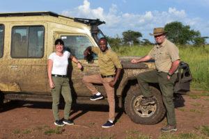 Safari Jeep in der Serengeti